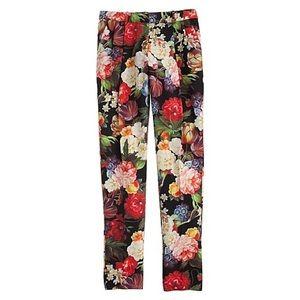 J. Crew Collection Dutch Floral Pants Size 6